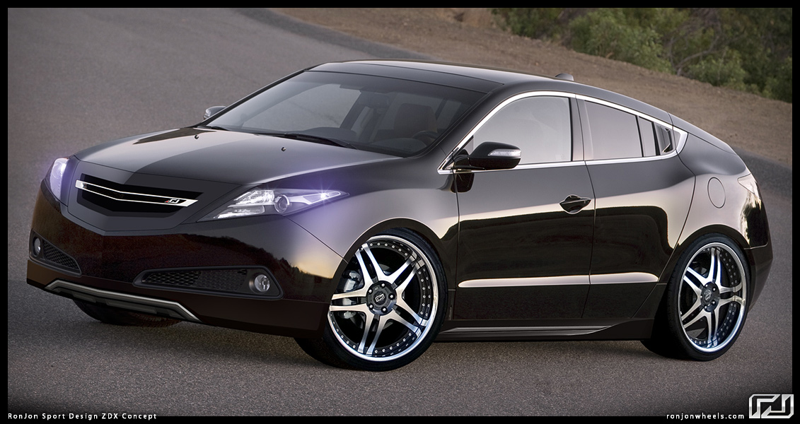 Vossen Wheels Acura Zdx Photo Gallery Pictures to pin on ...