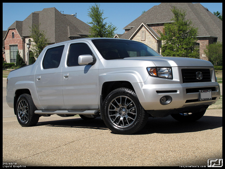 Image Result For Silver Honda Ridgeline With Black Rims