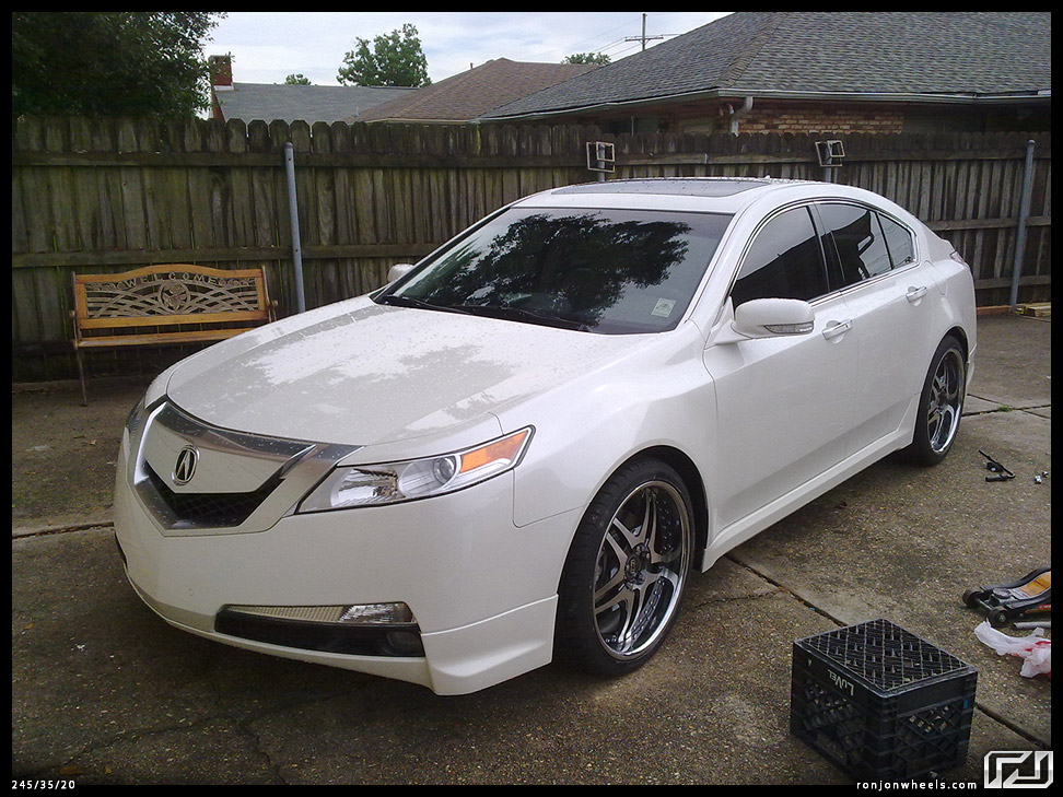The Unofficial Pictures Of Aftermarket Rims On The G TL Thread - Rims for acura tl