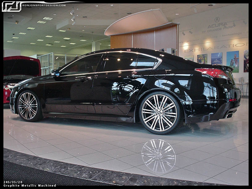 What style of wheels for my '09 grey TL Tech - AcuraZine - Acura Enthusiast Community