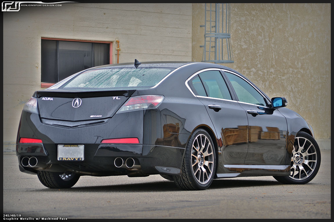 Acura Tl Window Visor Acura Tl Rear Roof Spoiler About - Acura tl window visors