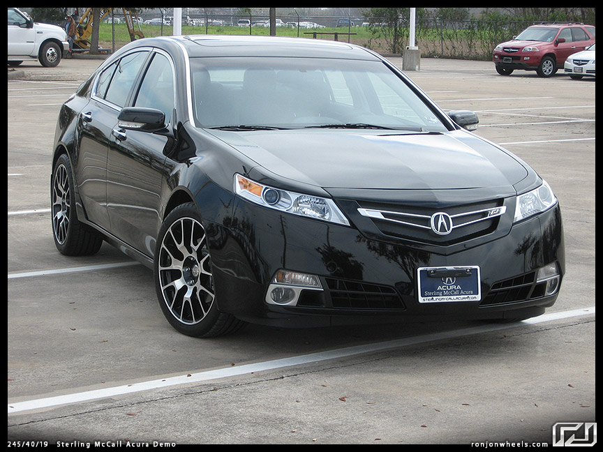 The Unofficial Pictures Of Aftermarket Rims On The G TL Thread - Acura tl upgrades